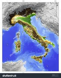 Map Of Greece And Surrounding Countries by 3d Relief Map Italy Seen Above Stock Illustration 4765327