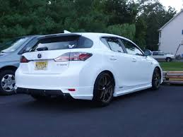lexus ct200h body kit voracious mod thread 2 toms ct200h aero parts body kit
