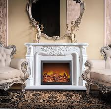 fake flame 2 sided electric fireplace no heat for indoor use buy