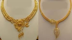 light weight gold necklace designs today fashion viyoutube com