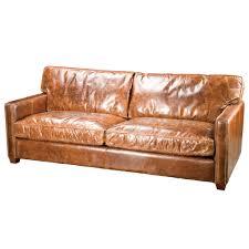 furniture elegant full grain leather sofa for luxury living room