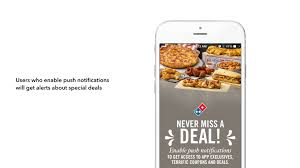 dominos black friday deals domino u0027s gets into mobile push messaging appboy