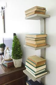 How To Make A Small Bookshelf Best 25 Vertical Bookshelf Ideas On Pinterest Apartment Bedroom