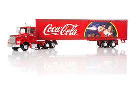 coca cola truck with led lights 1 43 scale hobbies and