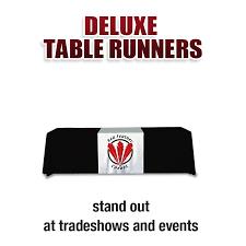 Trade Show Table Runner Runners