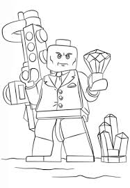 lego lex luthor coloring free printable coloring pages