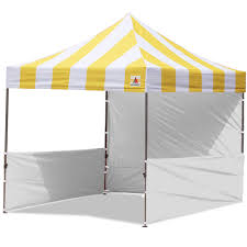 photo booth tent abccanopy carnival 3x3 yellow with white walls pop up tent trade