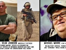 Chris Kyle Meme - a marine replies to troop hater michael moore