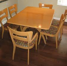 Chair Heywood Wakefield Dining Table Sold Greencycle Designla Room - Heywood wakefield dining room set