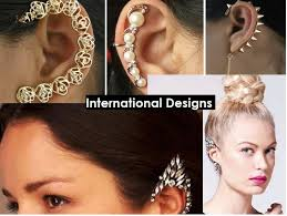 what is ear cuff the jewellery trend of 2015 gorgeous ear cuffs