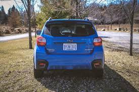 subaru crossover blue review 2016 subaru crosstrek canadian auto review