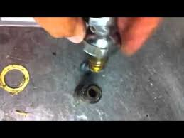 t u0026s faucet repair 3 compartment sink youtube