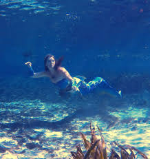 real mermaid celeste from florida her story and how she became a