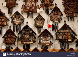 Cuckoo Clock Germany Cuckoo Clocks Black Forest Germany Stock Photos U0026 Cuckoo Clocks