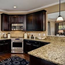 Kitchen Colors With Oak Cabinets And Black Countertops 41 Best Kitchens W Dark Cabinets Images On Pinterest Dream