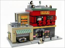 lego ideas ghostbusters 2016 headquarters chinese restaurant