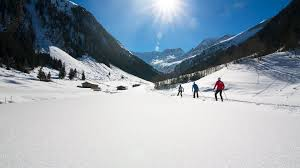 cross country skiing in the zillertal arena u203a hotel gaspingerhof