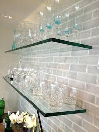 glass shelf for bathroom cabinet supports lowes shelves ikea