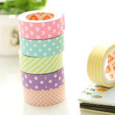 Decorative Scotch Tape 6 Pçs Lote Decorativo Fitas Adesivas Papel Washi Tape 15 Mm 5 M