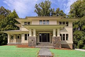 craftsman prairie style house plan best images about on pinterest