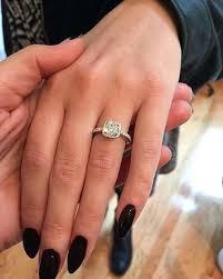 pretty diamond rings images Pretty diamond rings pretty fake engagement rings memnto jpg