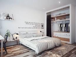 chambre blanche moderne dressing pour chambre idées fonctionnelles modernes
