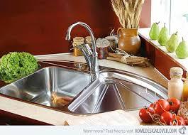 stainless corner sink 15 cool corner kitchen sink designs home design lover