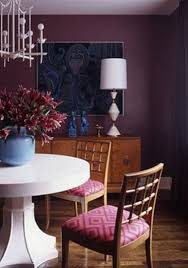 paint color portfolio purple dining rooms apartment therapy