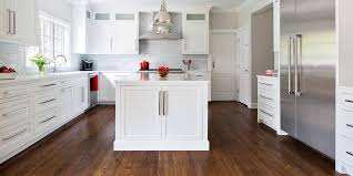 white shaker kitchen cabinets wood floors white shaker white oak thewoodloorsource