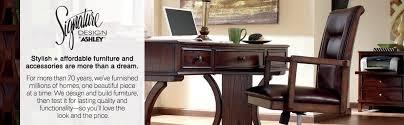 ashley furniture writing desk amazon com ashley furniture signature design hamlyn home office