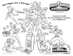 coloring pages free coloring pages power ranger samurai