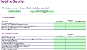 wedding todo checklist wedding task list excel template wedding checklist microsoft excel