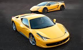 458 lamborghini aventador 458 italia vs lamborghini gallardo superleggera