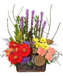 ashland flowers out of the woods flower basket in ashland mo alan s