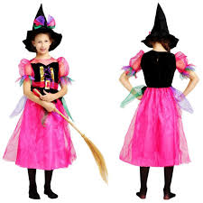 toddler witch costume 2018 kids rainbow witch costume children witch