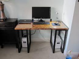 Diy Desk Legs 20 Diy Desks That Really Work For Your Home Office
