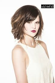 choppy shoulder length bob hairstyles for thick hair hairstyle