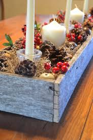 rustic christmas centerpiece from a reclaimed pallet my modern