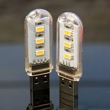 amber led book light 1pcs new mini 3 leds 5730 smd led usb l book lights cing bulb