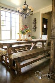 Dining Room Bench Seat Dining Table Bench Seats Room Tables For The Shanty 2 Chic Images