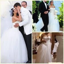 discount kim kardashian sweetheart strapless wedding dress 2017