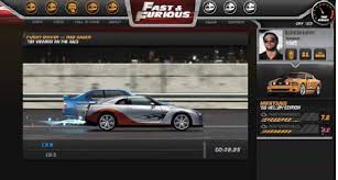 fast and furious online game fast and furious fig playcomet browser game features new