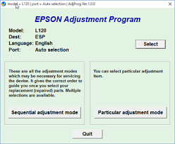 resetter epson l120 esp solved good day i am using the ssc service utility to fixya