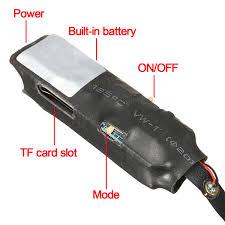 daniu mini wireless hidden camera wifi ip pinhole diy p2p video