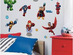 decoration my sons super hero bedroom homemade backboard from