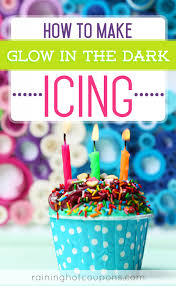 cing birthday party how to make glow in the icing