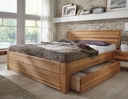 Wohnideen Schlafzimmer Bett Stilbetten Bett Holzbetten Massivholzbett Tarija Mit Stauraum