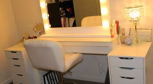 Folding Vanity Table Mirror Vintage Makeup Vanities Wonderful Standing Table Mirror