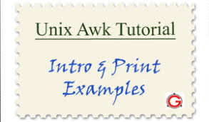 pattern matching using awk exles awk introduction tutorial 7 awk print exles