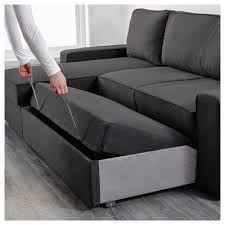 Ikea Chaise Lounge Sofa by Vilasund Sofa Bed With Chaise Longue Ikea